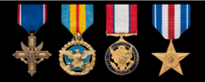 united states army full size military medals in order of precedence