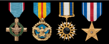 air force full size military medals in order of precedence