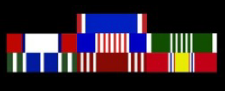 Army Military Ribbons in order of precedence