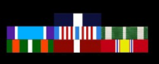 Coast Guard Military Ribbons in order of precedence