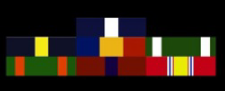 Marine Corps Military Ribbons in order of precedence