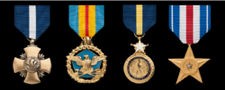 united states navy full size military medals in order of precedence