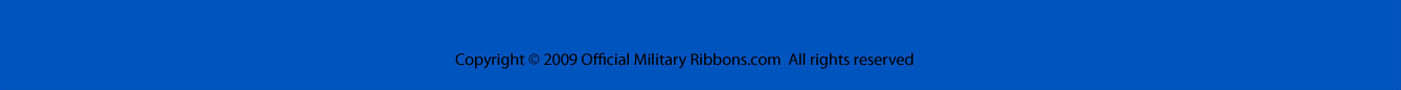 Official Military Ribbons Bottom Banner