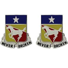 221st Cavalry Regiment Unit Crest (Never Broken)