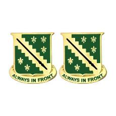 38th Cavalry Regiment Unit Crest (Always in Front)