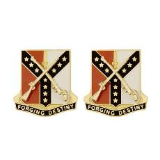61st Cavalry Regiment Unit Crest (Forging Destiny)