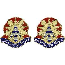 81st Armored Brigade Combat Team Unit Crest (Washington Rifles)