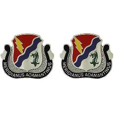 98th Cavalry Regiment Unit Crest (Meridianus Adamantinus)