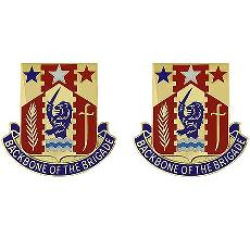 Special Troops Battalion, 81st Armored Brigade Unit Crest (Backbone Of The Brigade)