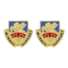 104th Aviation Regiment Unit Crest (Winged Support)