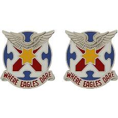 131st Aviation Regiment Unit Crest (Where Eagles Dare)