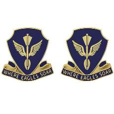 132nd Aviation Battalion Unit Crest (Where Eagles Soar)