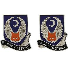 151st Aviation Regiment Unit Crest (Ready to Strike)