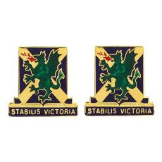 103rd Chemical Battalion Unit Crest (Stabilis Victoria)