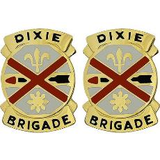 31st Chemical Brigade Unit Crest (Dixie Brigade)