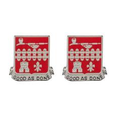 107th Engineer Battalion Unit Crest Good As Done