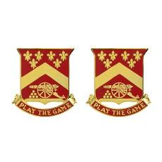103rd Field Artillery Regiment Unit Crest (Play the Game)