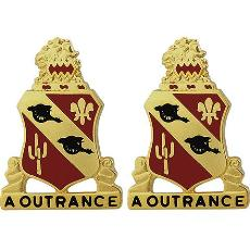 112th Field Artillery Regiment Unit Crest (A Outrance)