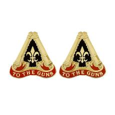 54th Field Artillery Brigade Unit Crest (To the Guns)