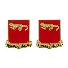 75th Field Artillery Regiment Unit Crest (Paratus Facere)