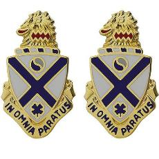 114th Infantry Regiment Crest