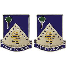125th Infantry Regiment Crest