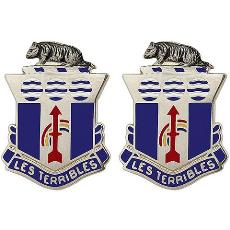 127th Infantry Regiment Crest