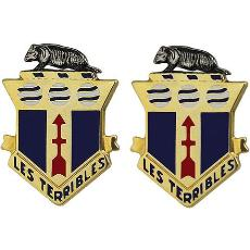 128th Infantry Regiment Crest