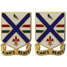 130th Infantry Regiment Crest