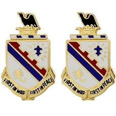 161st Infantry Regiment Crest