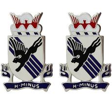 505th Infantry Regiment Crest