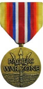 merhant marine pacific war zone military medal