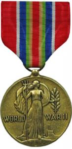 merchant marine world war II victory military medal