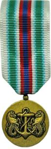 Merchant Marine Expeditionary Miniature Military Medal