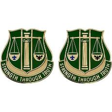 11th Military Police Battalion Unit Crest (Strength Through Truth)