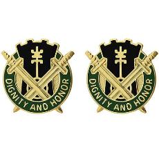 391st Military Police Battalion Unit Crest (Dignity and Honor)