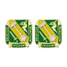 46th Military Police Command Unit Crest (Securing Freedom Worldwide)