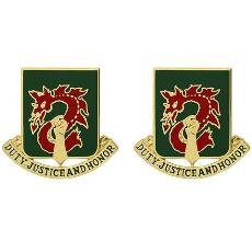 504th Military Police Battalion Unit Crest (Duty, Justice and Honor)