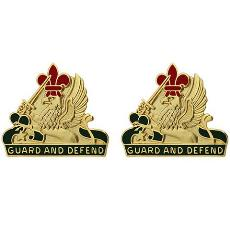 535th Military Police Battalion Unit Crest (Guard and Defend)