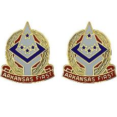 Arkansas National Guard Unit Crest (Arkansas First)