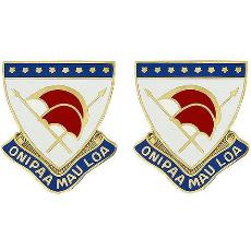 Hawaii National Guard Unit Crest
