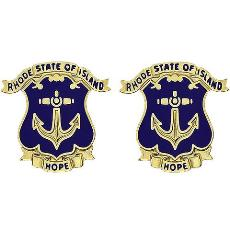 Rhode Island National Guard Unit Crest (Hope)