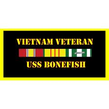 USS Bonefish Vietnam Veteran License Plate