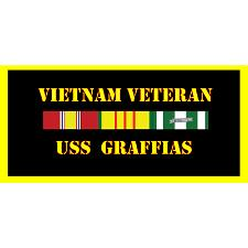 USS Graffis Vietnam Veteran License Plate