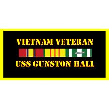 USS Gunston Hall Vietnam Veteran License Plate