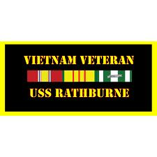 USS Rathburn Vietnam Veteran License Plate