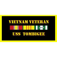 USS Tombigee Vietnam Veteran License Plate