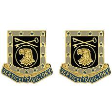 856th Quartermaster Battalion Unit Crest (Service to Victory)