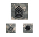army embroidered acu rank