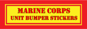 United States Marine Corps Unit Bumper Stickers